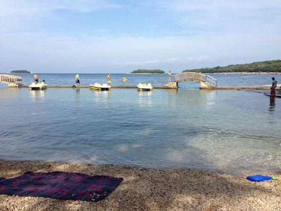 All-inclusive Resort Funtana: spiaggetta
