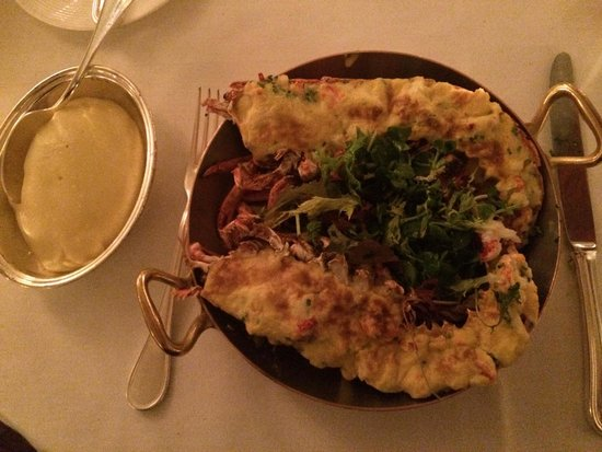 The Savoy Grill : Lobster, très bon !