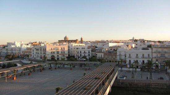 Alboran Chiclana: desde mi habitacion hotel Alboran