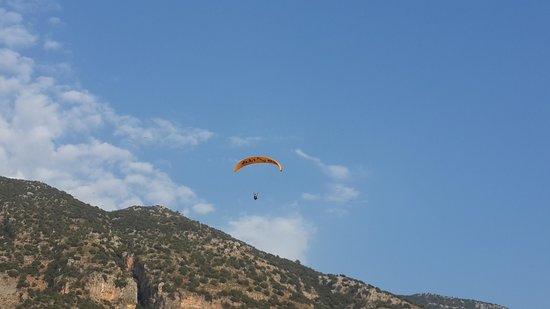 Plage d'Oludeniz (Lagon bleu) : Ölüdeniz yamaç paraşütü