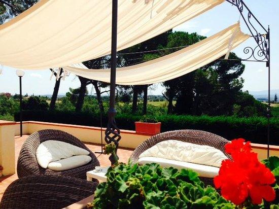 Relais Villa Petrischio: piscina