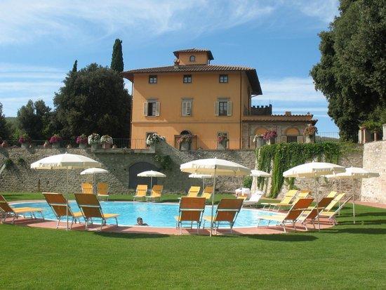 Hotel Villa Campomaggio Resort & Spa: Piscina
