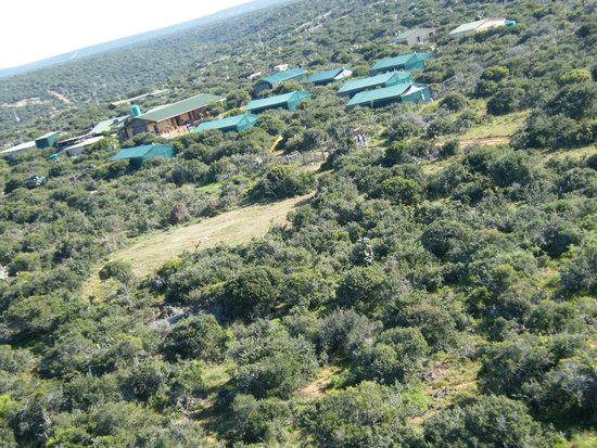 Kudu Ridge Game Ranch: Aerial view of Kudu Ridge