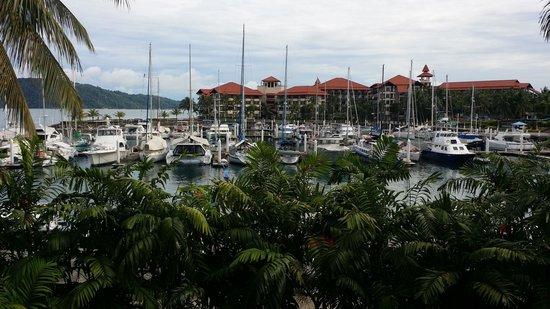 Sutera Harbour Resort (The Pacific Sutera & The Magellan Sutera): View from restaurant