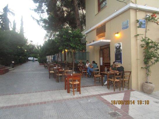 To Trikyklo: vista ristorante