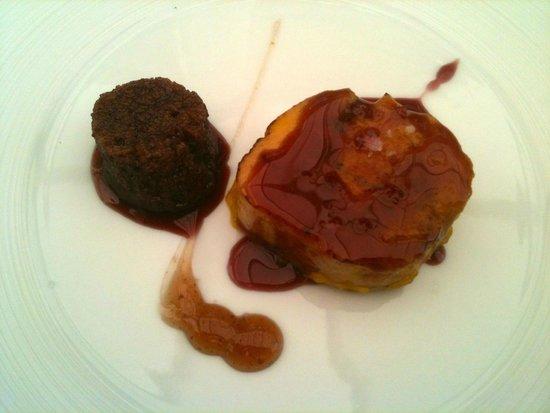 Sollun Restaurante - Pintada 23: eendelever met vijgenbrood...