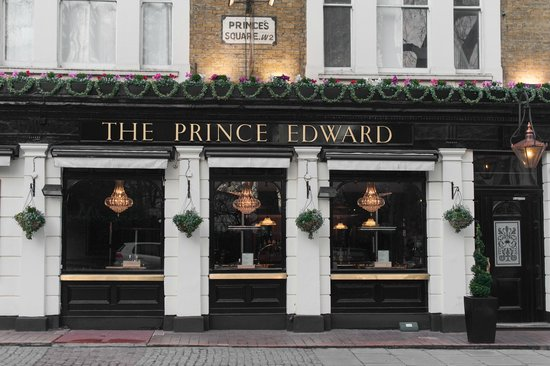 The Prince Edward: Another Exterior Shot.