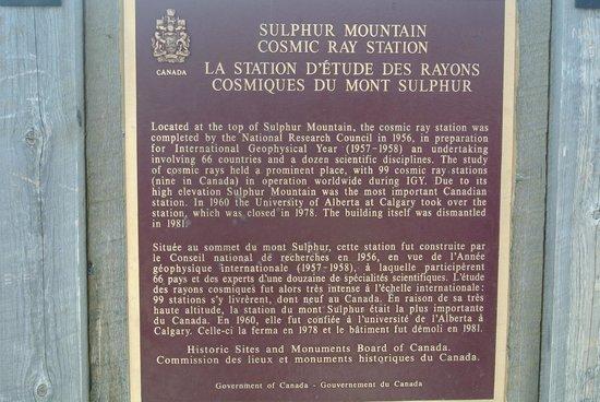 Banff Gondola: Sulphur Station Plague