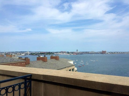 Boston Harbor Hotel: View from my room