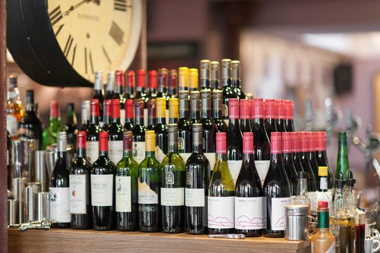 The Prince Edward: We Have a Vast Wine List.