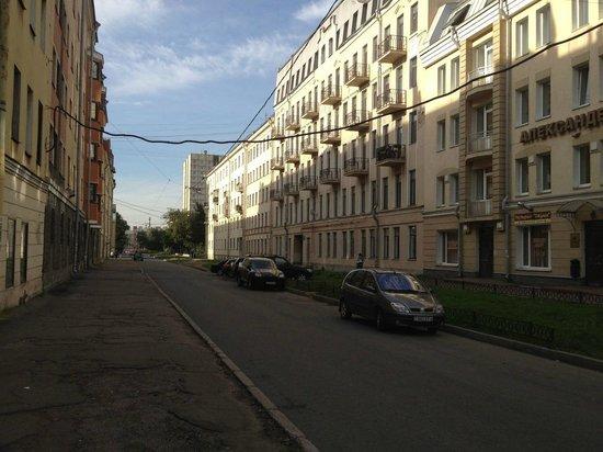 Hotel AlexanderPlatz: Улочка рядом с отелем