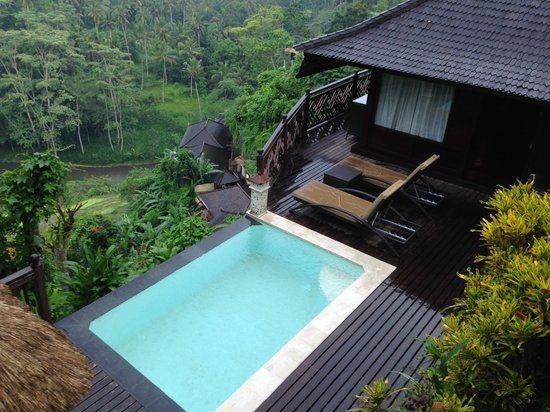 Kupu Kupu Barong Villas and Tree Spa : entrance view