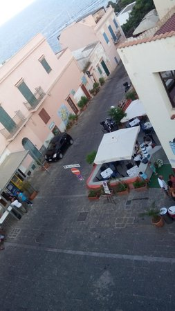 Sogni Nel Blu: View from our apartment