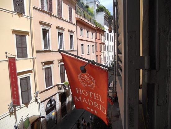 Hotel Madrid: Dalla mia stanza