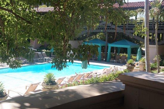 The Langham Huntington, Pasadena, Los Angeles : View from Brekafast area