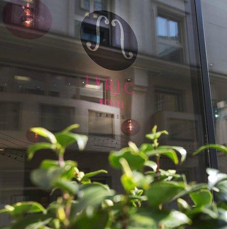 Lyric Hotel Paris : Extérieure