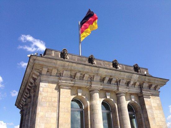 Plenarbereich Reichstagsgebäude: Bundestag