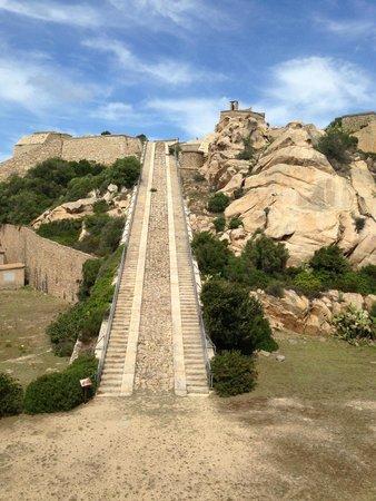La Fortezza di Monte Altura: Dall'ingresso