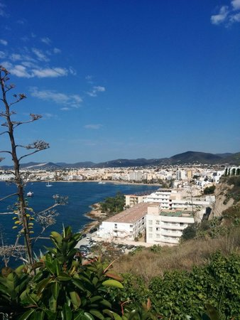 Hostal MarBlau Ibiza: View from Hotel