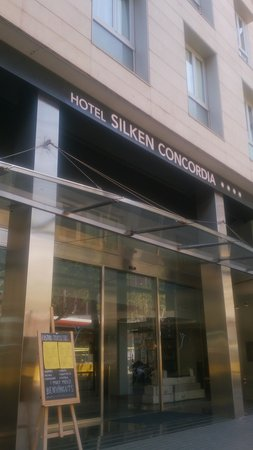 Silken Concordia Hotel: From outside the hotel