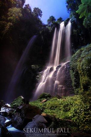 Sekumpul Waterfalls : SEKUMPUL by Krishna