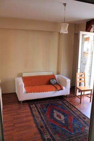 Istanbul Ataman Suites: холл