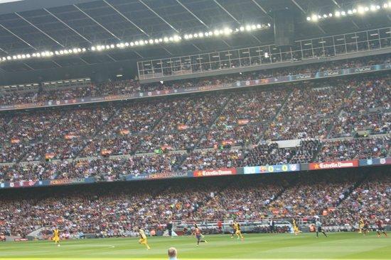 Camp Nou: счет