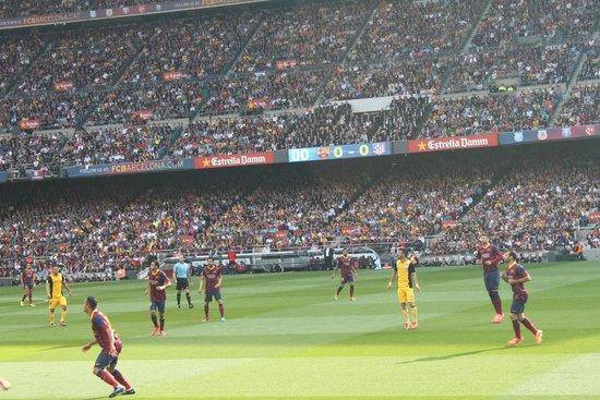 Camp Nou: в процессе игры