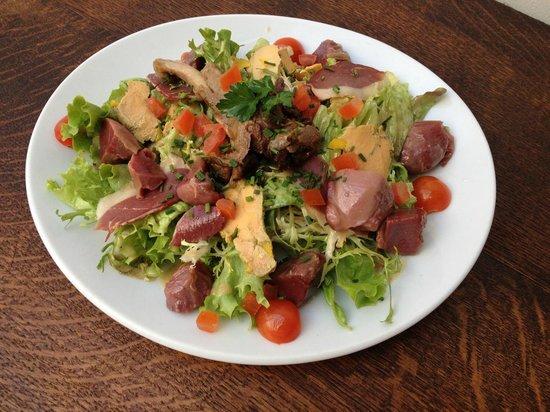 La Chalosse : Salade périgourdine