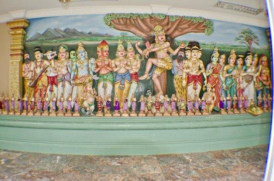 Sri Maha Mariamman Temple : all'interno