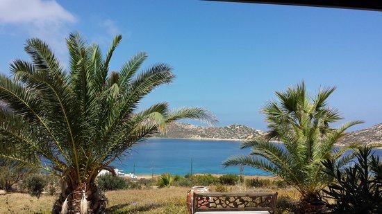 Agios Pavlos Studios: Vista desde la terraza