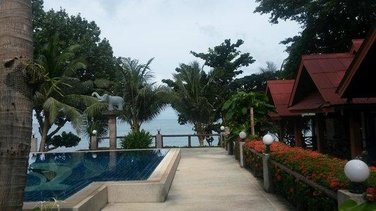 Penny's Bungalow Resort: Вид от ресторана