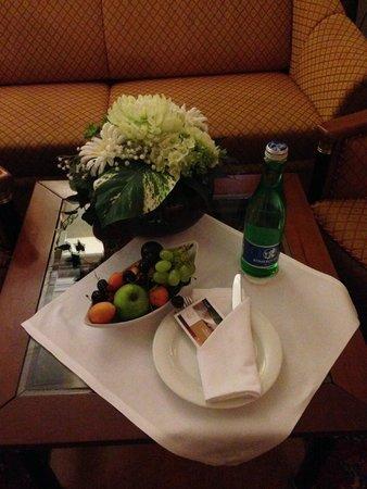 Radisson Blu Hotel Altstadt, Salzburg: Complimentary fruit/water