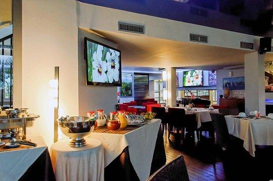Goldstar Resort & Suites : Salle Petit déjener