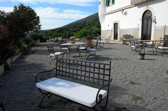 Masseria Pescorosso: La bellissima location per la colazione all'aperto