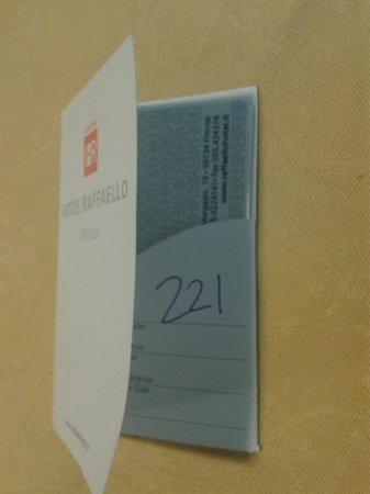 Hotel Raffaello Firenze : La nostra camera