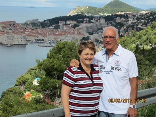 Dubrovnik Shore Tours: A picture taken by Nikolina overlooking the old city of Dubrovnik
