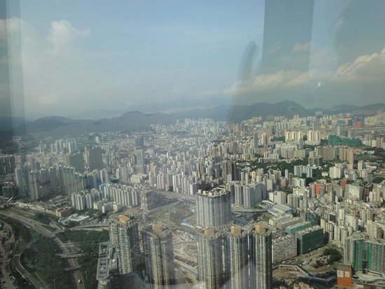 sky100 Hong Kong Observation Deck: View from the 100th floor