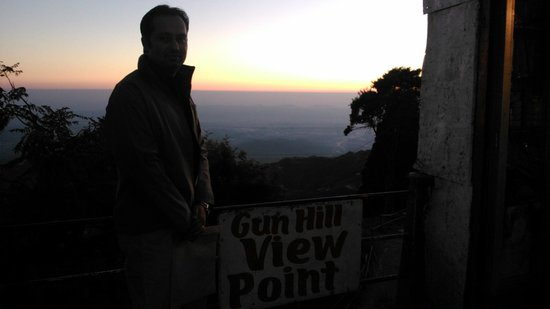 sunset from gun hill view point