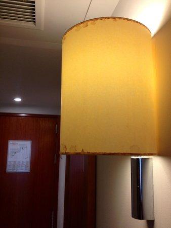 Hotel Terraza : Entrée chambre supérieure avec vue
