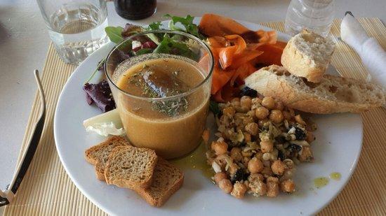 Chill Cafe: vegetarian menu