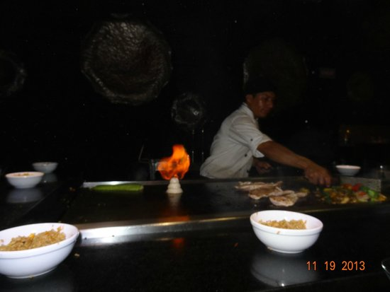 Sandos Caracol Eco Resort: restaurant japonnais