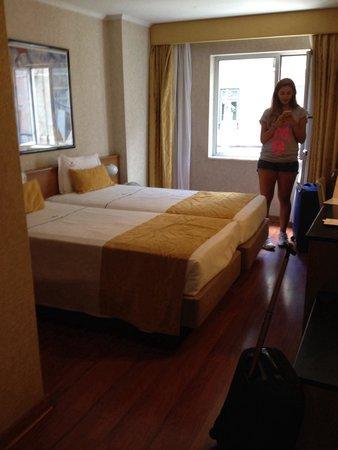 Hotel 3K Madrid: Camera doppia