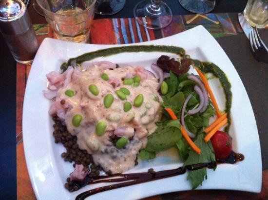 Chez Genevieve : salade tiède