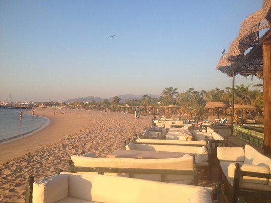 Lotus Bay: вся территория пляжа отеля