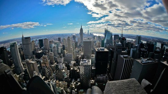 Manhattan Skyline : view from the Top of the Rock