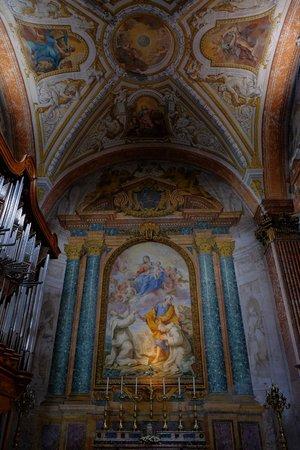 Basilica di Santa Maria degli Angeli e dei Martiri: the transept