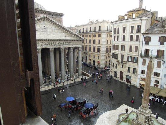 Hotel Abruzzi: Сказочный вид из окна