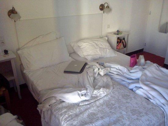 Hotel Villa Nina: Vue chambre