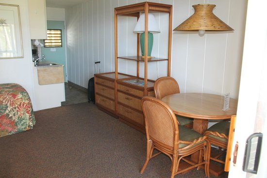 Mokihana: View of room from lanai